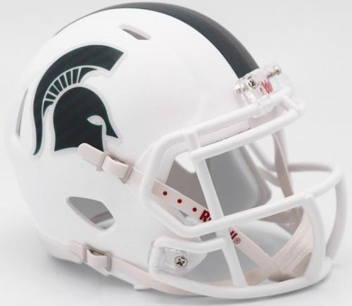 Michigan State Spartans Helmet Riddell Replica Full Size Speed Style 2017 Alternate