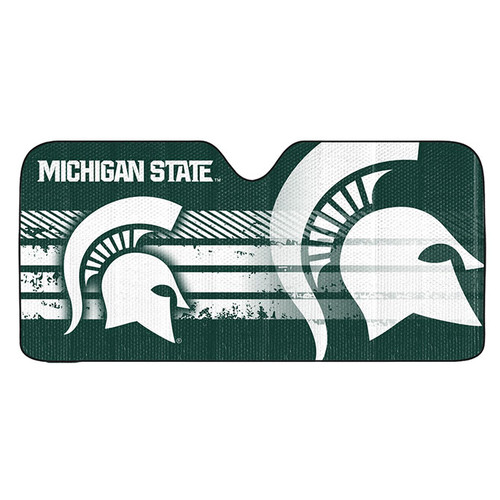 Michigan State Spartans Auto Sun Shade 59x27