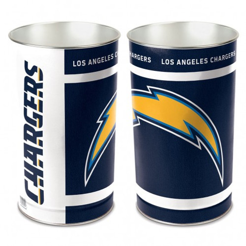 Los Angeles Chargers Wastebasket 15 Inch