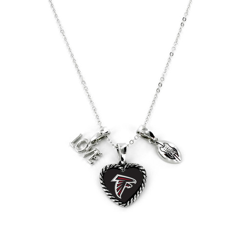 Atlanta Falcons Necklace Charmed Sport Love Football
