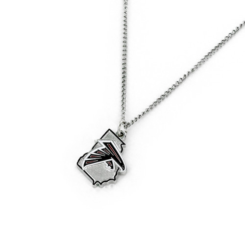 Atlanta Falcons Necklace State Design