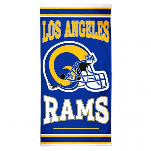 Los Angeles Rams Towel 30x60 Beach Style
