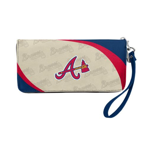 Atlanta Braves Wallet Curve Organizer Style