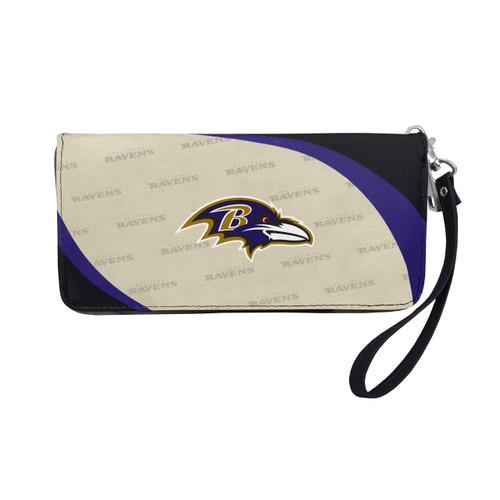 Baltimore Ravens Wallet Curve Organizer Style