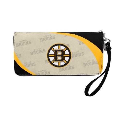 Boston Bruins Wallet Curve Organizer Style