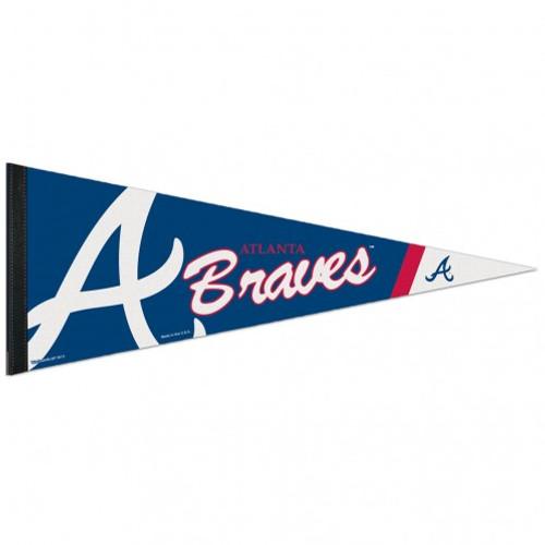 Atlanta Braves Pennant 12x30 Premium Style