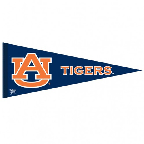 Auburn Tigers Pennant 12x30 Premium Style