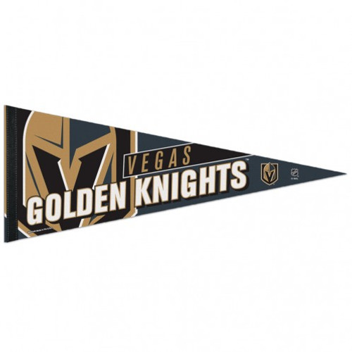 Vegas Golden Knights Pennant 12x30 Premium Style