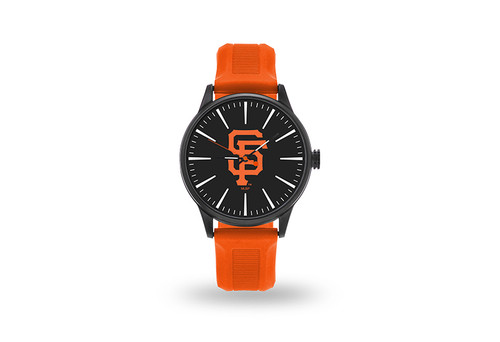 San Francisco Giants Watch Men's Cheer Style with Orange Watch Band