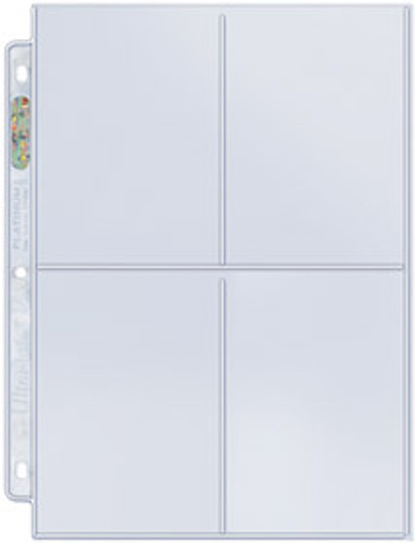 Ultra Pro 4-Pocket Pages 204D (100ct)
