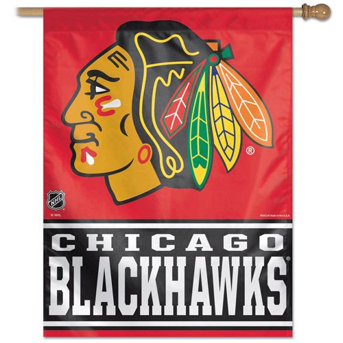 Chicago Blackhawks Banner 27x37