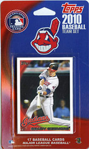 Cleveland Indians 2010 Topps Team Set
