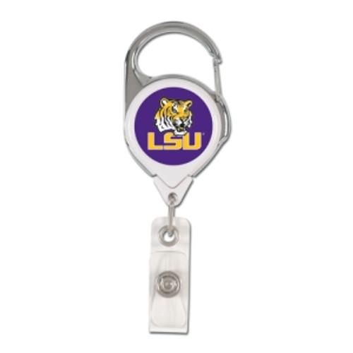 LSU Tigers Retractable Premium Badge Holder