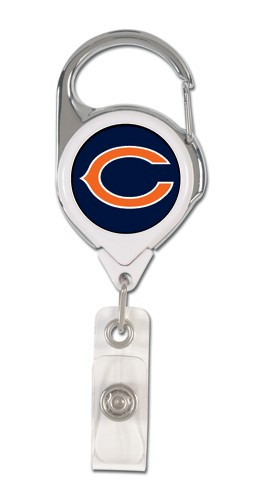 Chicago Bears Retractable Premium Badge Holder