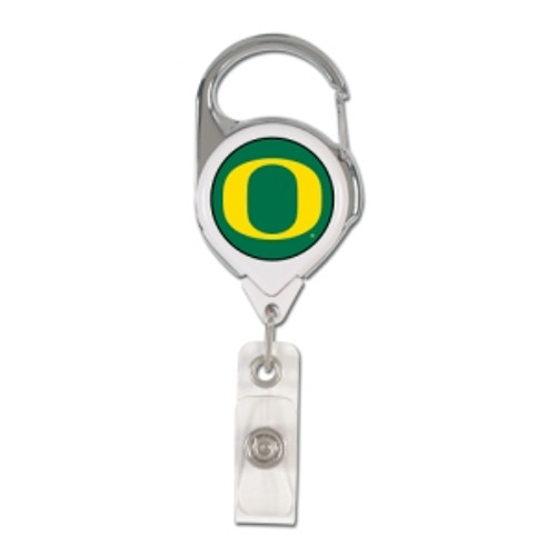 Oregon Ducks Retractable Premium Badge Holder