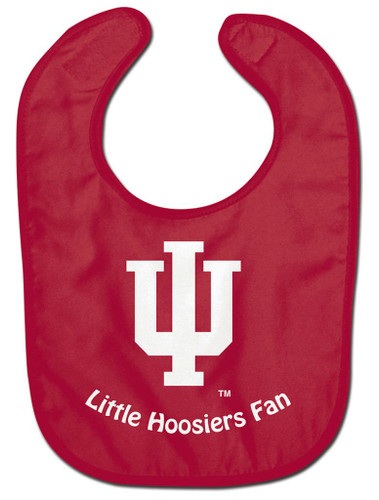 Indiana Hoosiers Baby Bib - All Pro Little Fan