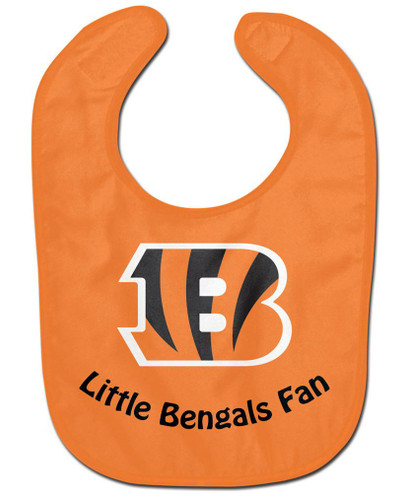 Cincinnati Bengals All Pro Little Fan Baby Bib