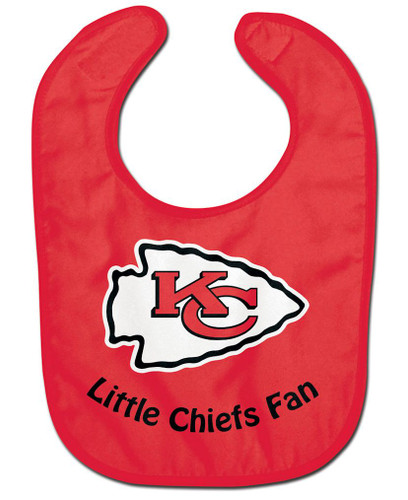 Kansas City Chiefs All Pro Little Fan Baby Bib