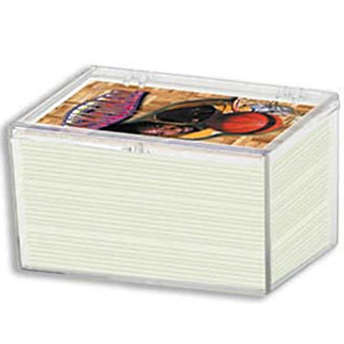 100-count Hinged Plastic Case (100 per case)
