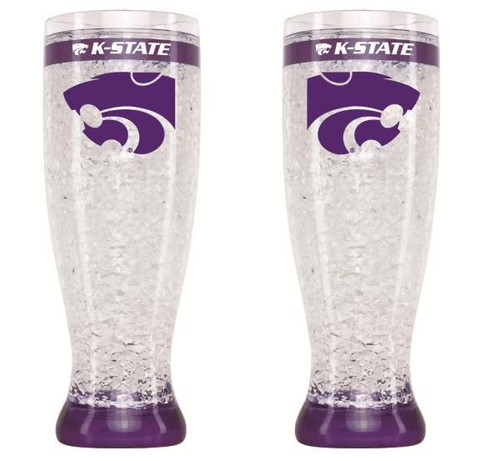 Kansas State Wildcats Pilsner Crystal Freezer Style