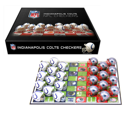 Indianapolis Colts Checker Set