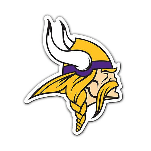 "Minnesota Vikings 12"" Logo Car Magnet"