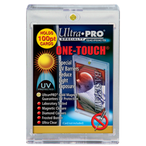 One Touch UV Card Holder With Magnet Closure - 100pt