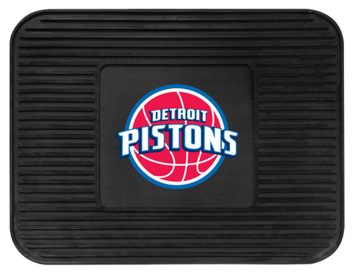 Detroit Pistons Car Mat Heavy Duty Vinyl Rear Seat