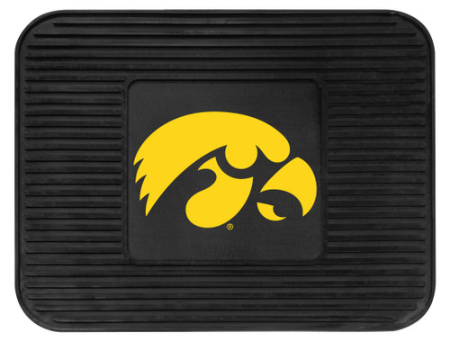 Iowa Hawkeyes Car Mat Heavy Duty Vinyl Rear Seat