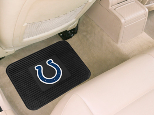 Indianapolis Colts Car Mat Heavy Duty Vinyl Rear Seat