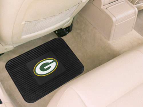 Green Bay Packers Car Mat Heavy Duty Vinyl Rear Seat