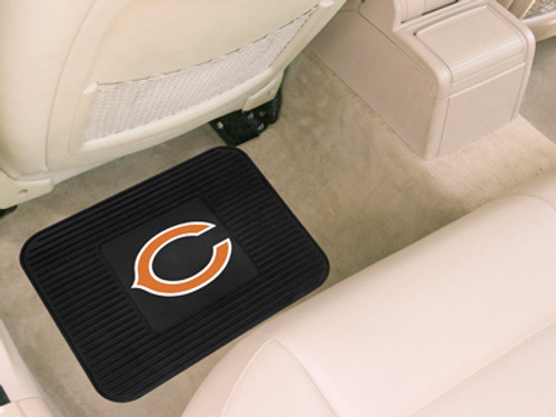 Chicago Bears Car Mat Heavy Duty Vinyl Rear Seat