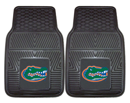 Florida Gators Heavy Duty 2-Piece Vinyl Car Mats