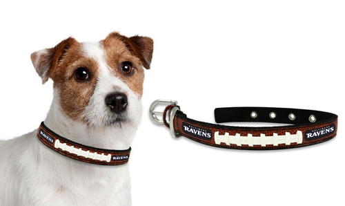 Baltimore Ravens Dog Collar - Size Small