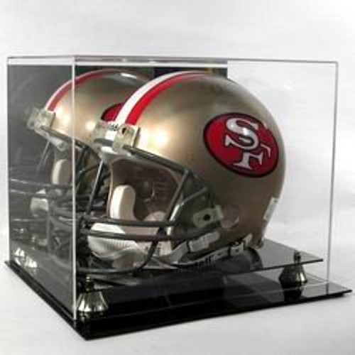 Deluxe Acrylic Football Helmet Display Case