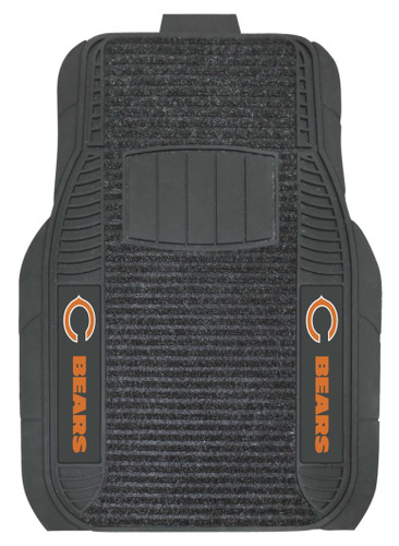 Chicago Bears Car Mats Deluxe Set