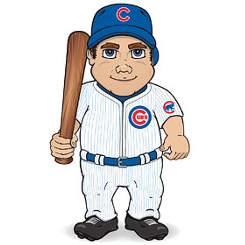 Chicago Cubs Dancing Musical Baseball Player
