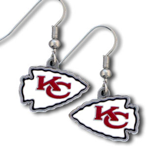 Kansas City Chiefs Dangle Earrings