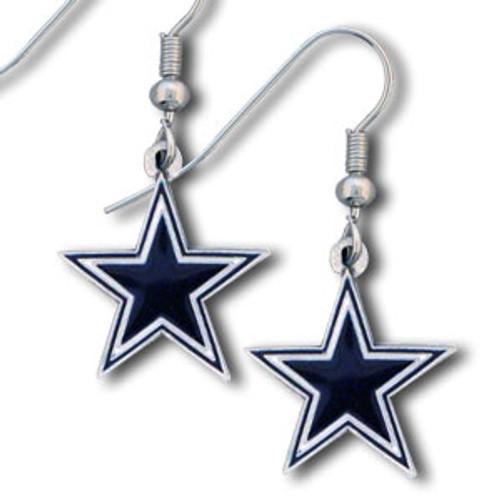 Dallas Cowboys Dangle Earrings