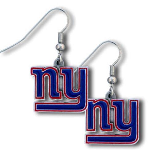 New York Giants Dangle Earrings