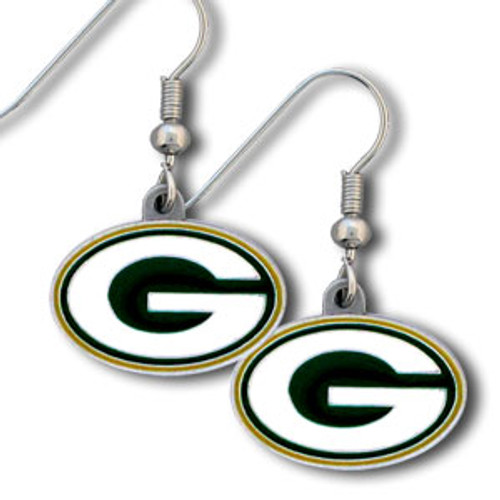 Green Bay Packers Dangle Earrings