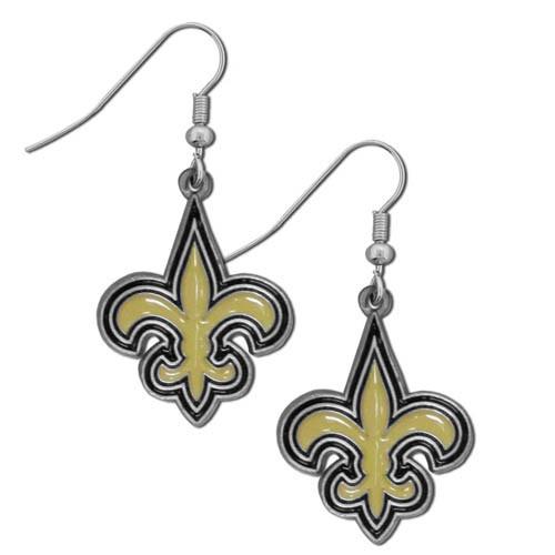 New Orleans Saints Dangle Earrings