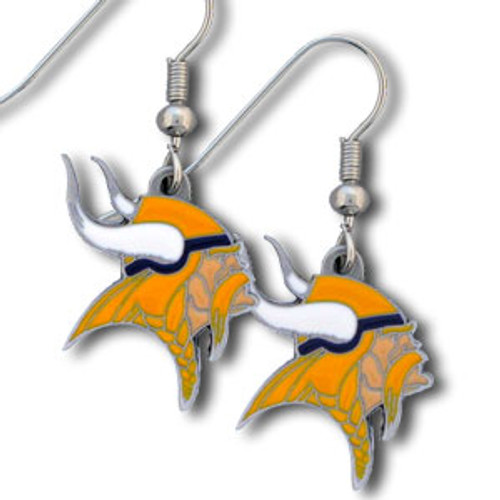 Minnesota Vikings Dangle Earrings