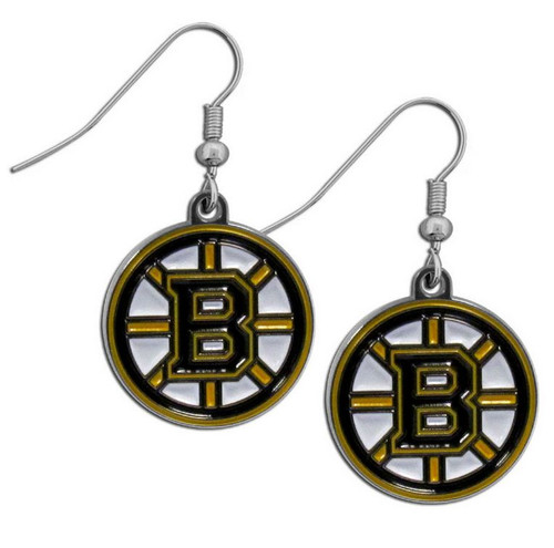Boston Bruins Dangle Earrings
