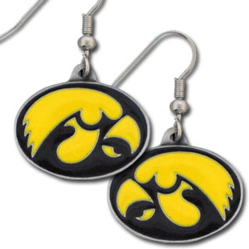 Iowa Hawkeyes Dangle Earrings