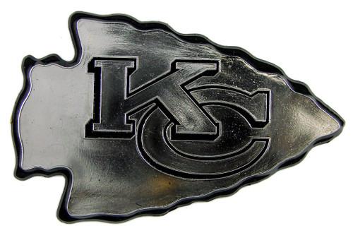 Kansas City Chiefs Auto Emblem - Silver