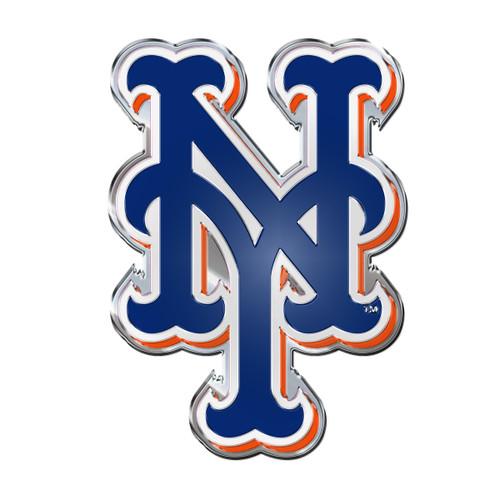 New York Mets Auto Emblem - Color