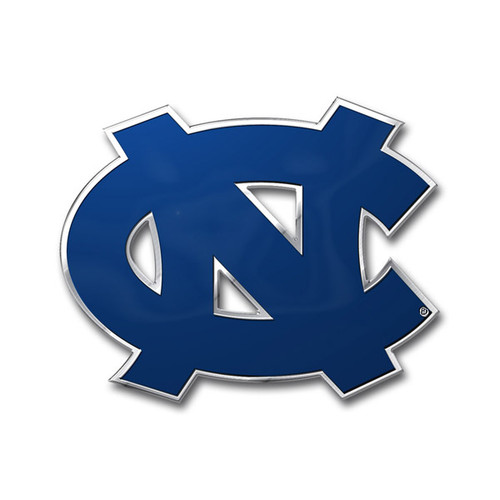 North Carolina Tar Heels Auto Emblem - Color