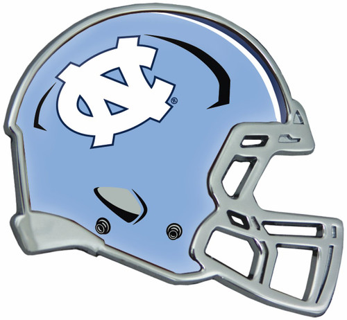 North Carolina Tar Heels Auto Emblem - Helmet