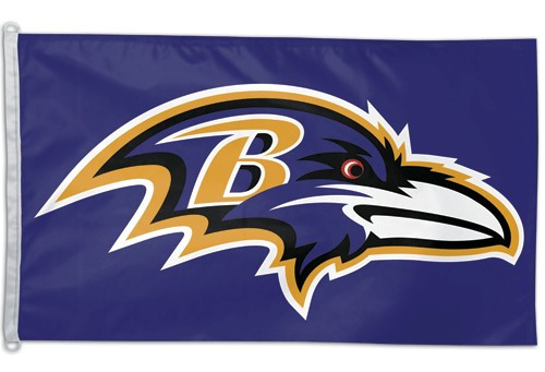 Baltimore Ravens Flag 3x5
